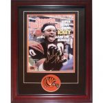 "Ickey Woods Autographed Cincinnati Bengals (Sports Illustrated) Deluxe Framed 11×14 Print w/ ""Who Dey"""