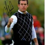 Lee Westwood Autographed Golf (Ryder Cup) 8×10 Photo
