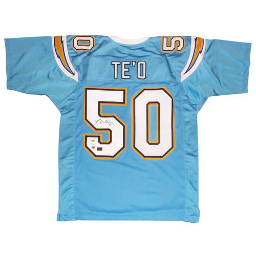 Autographed Custom Diego - Chargers Blue Jsa Te'o 50 Manti baby San Jersey ccbcefecdd|World Class New Orleans