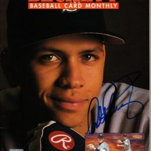 Alex Rodriguez Autographed Seattle Mariners (Sept 1996) Beckett Magazine - JSA