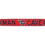 "Dayton Flyers ""MAN CAVE"" Authentic Street Sign"