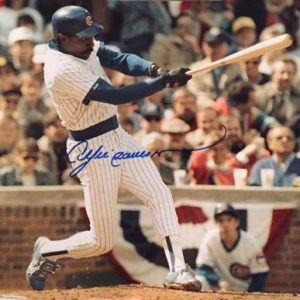 Andre Dawson Autographed Chicaco Cubs 8x10