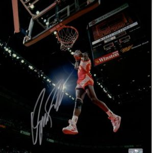 Dominique Wilkins Autographed Atlanta Hawks (Dunking) 8x10 Photo