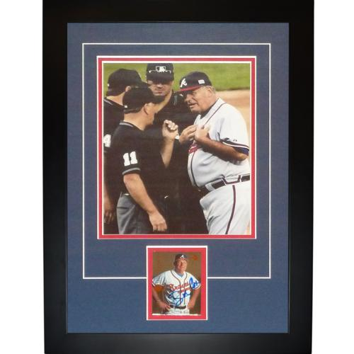 "Bobby Cox Autographed Atlanta Braves ""Signature Series"" Frame"