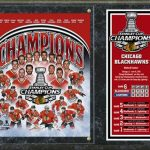 Chicago Blackhawks 2015 Stanley Cup Champions 15″x12″ Stat Plaque