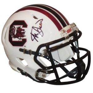 Steve Spurrier Autographed South Carolina Gamecocks Mini Helmet