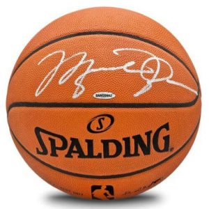 Michael Jordan Autographed Official NBA Spalding Basketball - Chicago Bulls - UDA