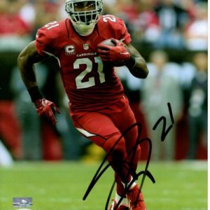 Patrick Peterson Autographed Arizona Cardinals (Red Jersey) 8x10 Photo - PSADNA