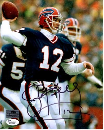 Jim Kelly Autographed Buffalo Bills 8x10 Photo - JSA