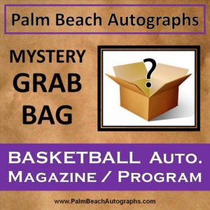 MYSTERY GRAB BAG - Autographed Basketball Magazine / Program