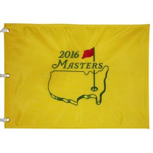 2016MastersEmbroidered Golf PinFlag- Danny Willett Champion