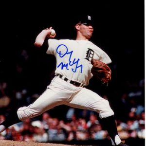 Denny McLain Autographed Detroit Tigers 8x10 Photo