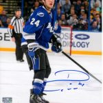 Ryan Callahan Autographed Tampa Bay Lightning 8×10 Photo