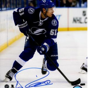 Valtteri Filppula Autographed Tampa Bay Lightning 8x10 Photo
