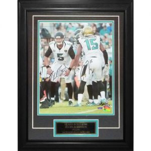Blake Bortles And Allen Robinson Autographed Jacksonville Jaguars Deluxe Framed 11x14 Photo