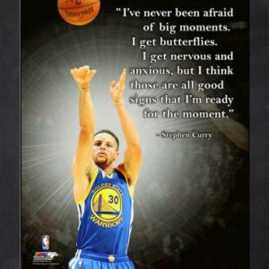 "Stephen Curry Golden State Warriors (Shooting) Framed 11x14 ""Pro Quote"" #1"