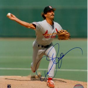Dennis Eckersley Autographed St. Louis Cardinals 8x10 Photo