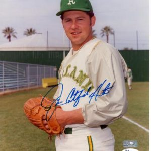 "Jim ""Catfish"" Hunter Autographed Oakland A's 8x10 Photo - JSA"