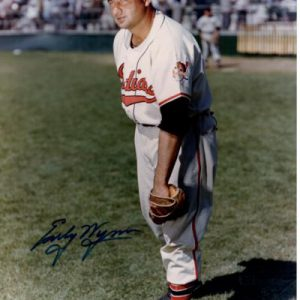 Early Wynn Autographed Cleveland Indians 8x10 Photo