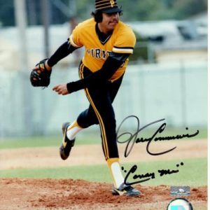 "John Candelaria Autographed Pittsburgh Pirates 8x10 Photo w/ ""Candy Man"""