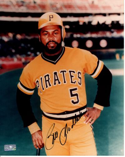 Bill Madlock Autographed Pittsburgh Pirates 8x10 Photo