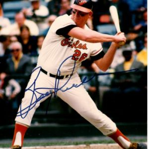 Boog Powell Autographed Baltimore Orioles 8x10 Photo