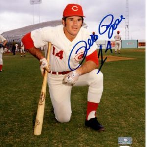 Pete Rose Autographed Cincinnati Reds (Pose) 8x10 Photo