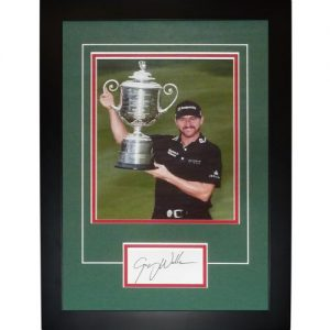 "Jimmy Walker Autographed 2016 PGA Championship (Trophy) ""Signature Series"" Frame"