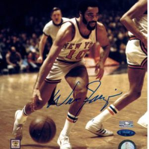 Walt Frazier Autographed New York Knicks 8x10 Photo - MM