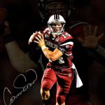 Connor Shaw Autographed South Carolina Gamecocks (Spotlight) 8×10 Photo