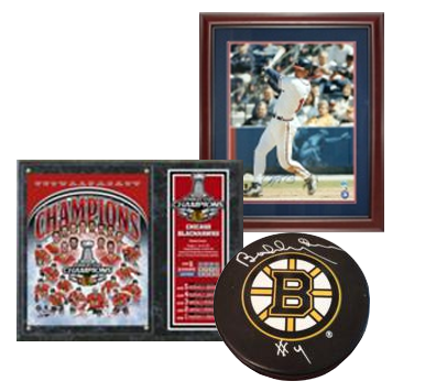 Business Interior Decorating - Sports Memorabilia