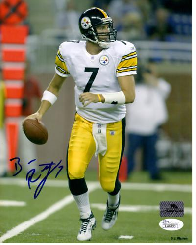 Ben Roethlisberger Autographed Pittsburgh Steelers 8x10 Photo