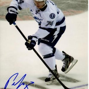 Ondrej Palat Autographed Tampa Bay Lightning 8x10 Photo