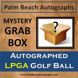 MYSTERY GRAB BOX - Autographed LPGA Tour Player Golf Ball