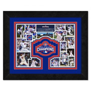 Chicago Cubs 2016 World Series Champions (Milestones And Memories) Deluxe Framed Piece