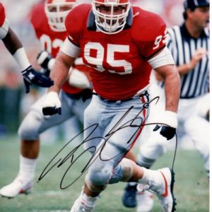 Bill Goldberg Autographed Georgia Bulldogs 8x10 Photo