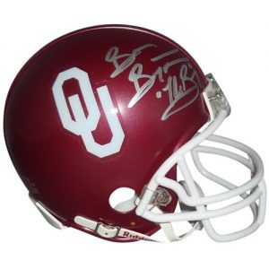 "Brian Bosworth ""The Boz"" Autographed Oklahoma Sooners Mini Helmet w/ ""The Boz"""