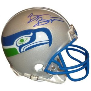 "Brian Bosworth ""The Boz"" Autographed Seattle Seahawks (Throwback) Mini Helmet"