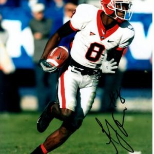 A.J. Green Autographed Georgia Bulldogs 8x10 Photo