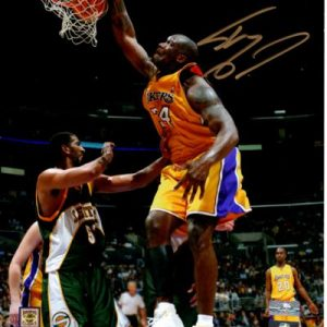 Shaquille O'Neal Autographed Los Angeles Lakers 8x10 Photo
