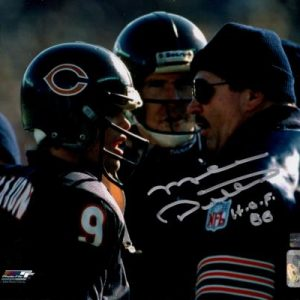 "Mike Ditka Autographed Chicago Bears (with Jim McMahon) 8x10 Photo w/ ""HOF 88"""