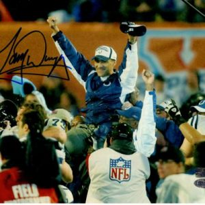 Tony Dungy Autographed Indianapolis Colts (Super Bowl XLI) 8x10 Photo - Steiner