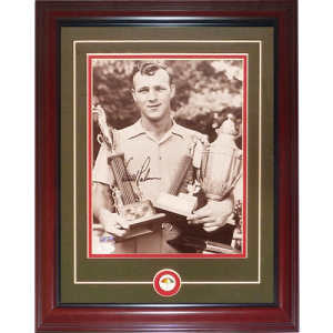 Arnold Palmer Autographed Golf Deluxe Framed 11x14 Photo - JSA