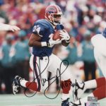 Thurman Thomas Autographed Buffalo Bills 8×10 Photo