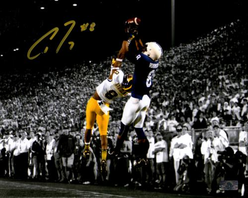 Allen Robinson Autographed Penn State Nittany Lions (Spotlight Catch vs Mich) 8x10 Photo