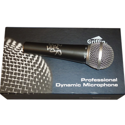 Nelly Cornell Haynes Jr Autographed Griffin I-58 Professional Dynamic Microphone - JSA