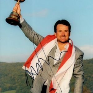 Graeme McDowell Autographed Golf (Ryder Cup Trophy) 8x10 Photo