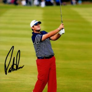 Patrick Reed Autographed Golf (Ryder Cup) 8x10 Photo