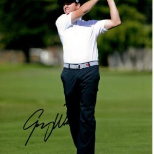 Jimmy Walker Autographed Golf (Action) 8x10 Photo