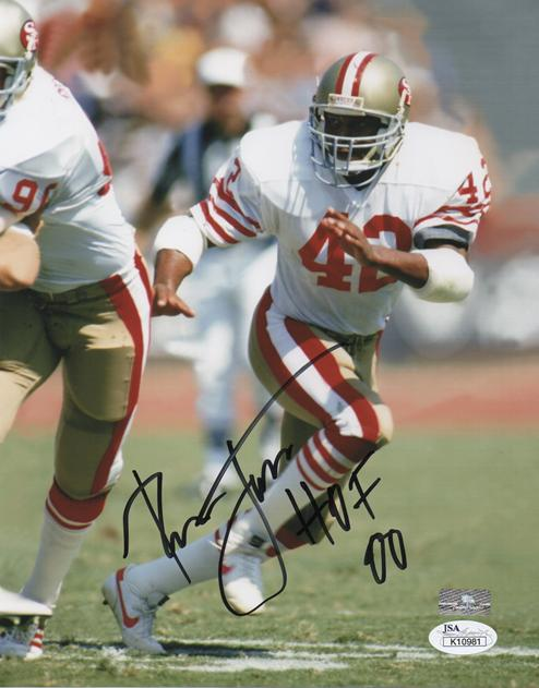 pretty nice 5ebcc d11ab Ronnie Lott Autographed San Francisco 49ers 8x10 Photo w/